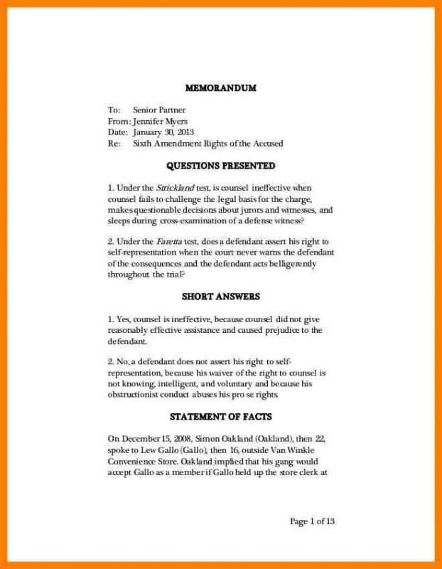 Legal Memo Template | template | Pinterest | Template and Letter ...