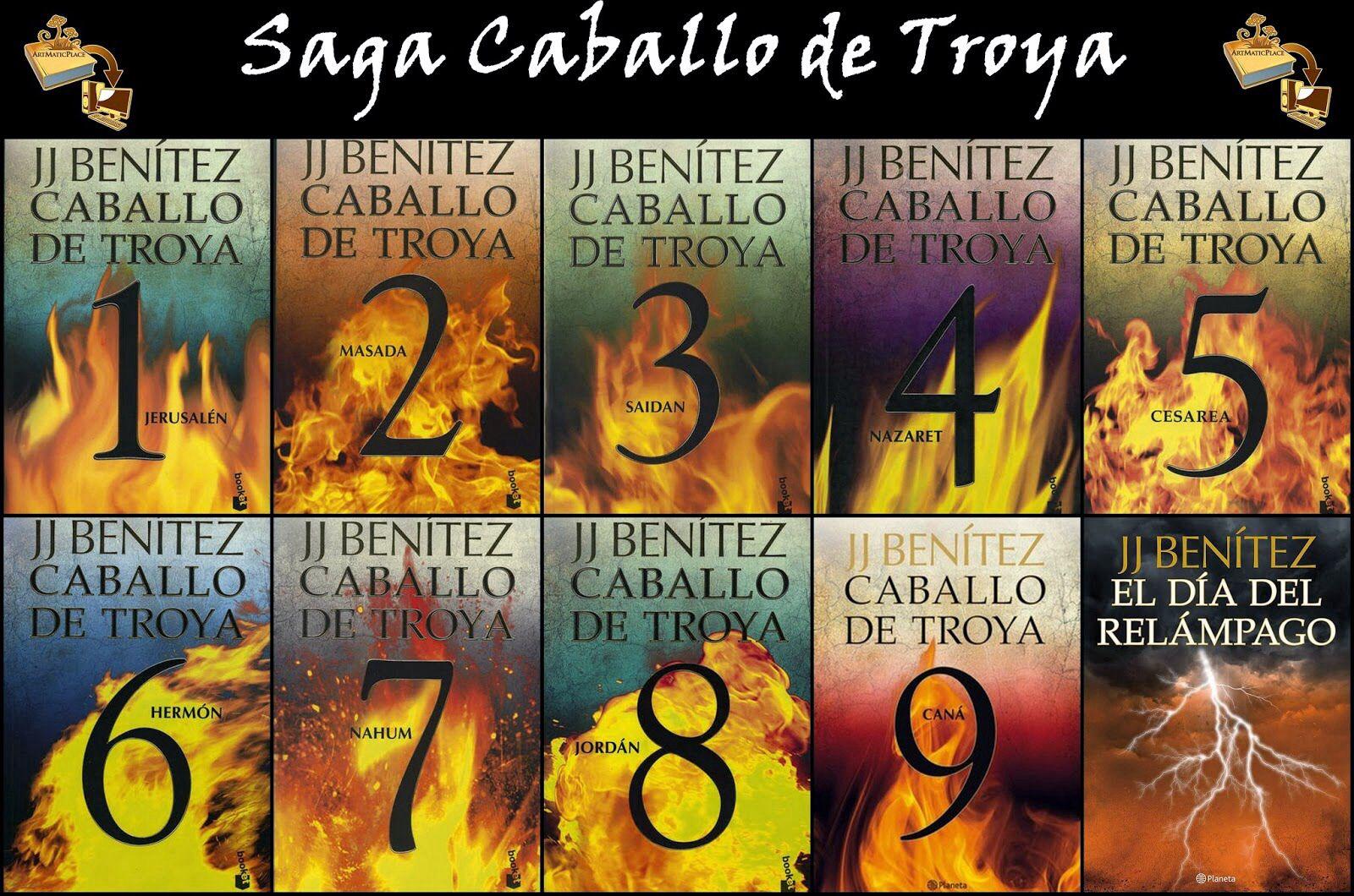 Saga Caballo De Troya 1 2 3 4 5 6 7 8 9 Y El Dia Del Relampago