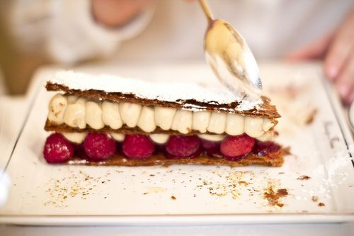 Millefeuille from Mariage Frères, Paris