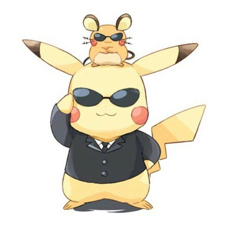 Pikachu and dedenne pikachu trop chou pinterest - Pikachu dessin anime ...