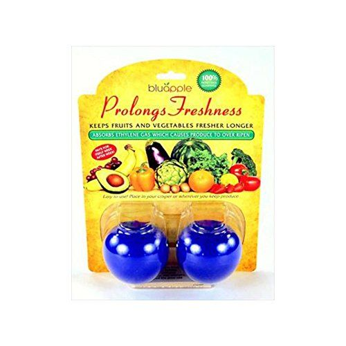 Bluapple 2-pack - Freshness extender - Absorbs ethylene gas - Keeps produce fresher longer BluApple http://www.amazon.com/dp/B005W6DRNY/ref=cm_sw_r_pi_dp_x3m3wb12Y7Z0D