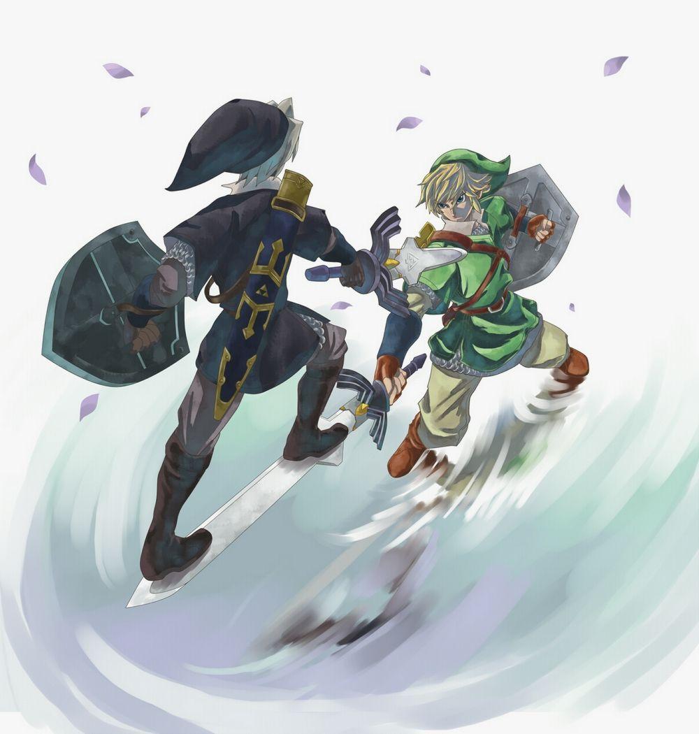 Legend Of Zelda Dark Link Vs Link Link vs. Dark Link ~ #...