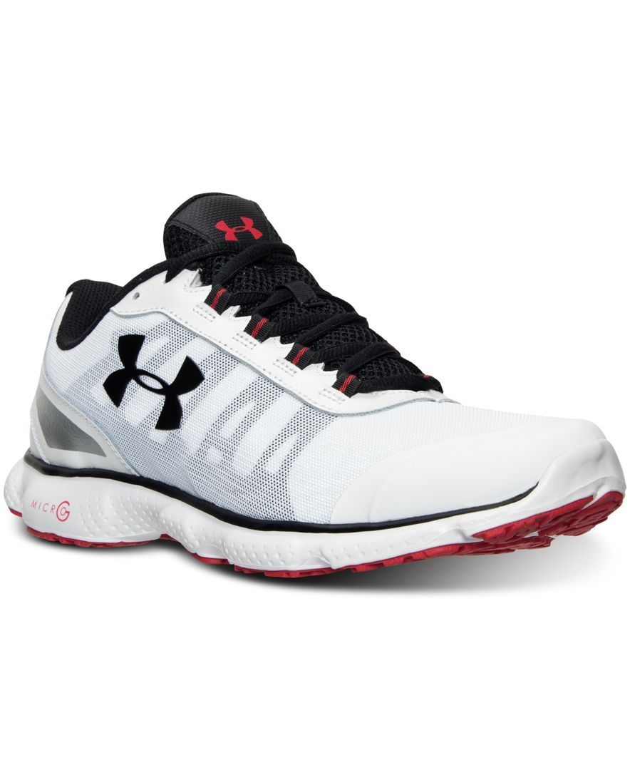 pretty nice bde06 b1c1d Under Armour Men s Micro G Attack 2 Running Sneakers from Finish Line