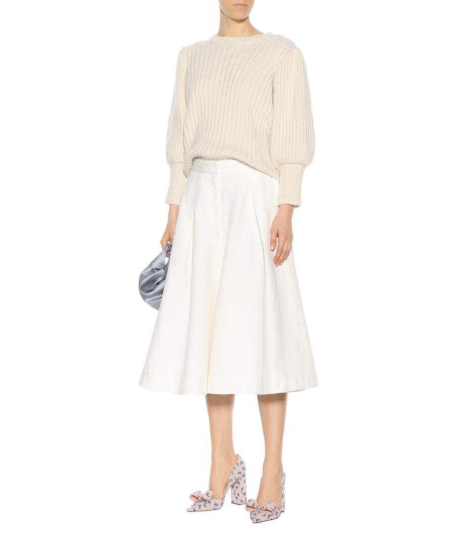Co - Linen and cotton culottes | mytheresa.com | Screenshots | Pinterest