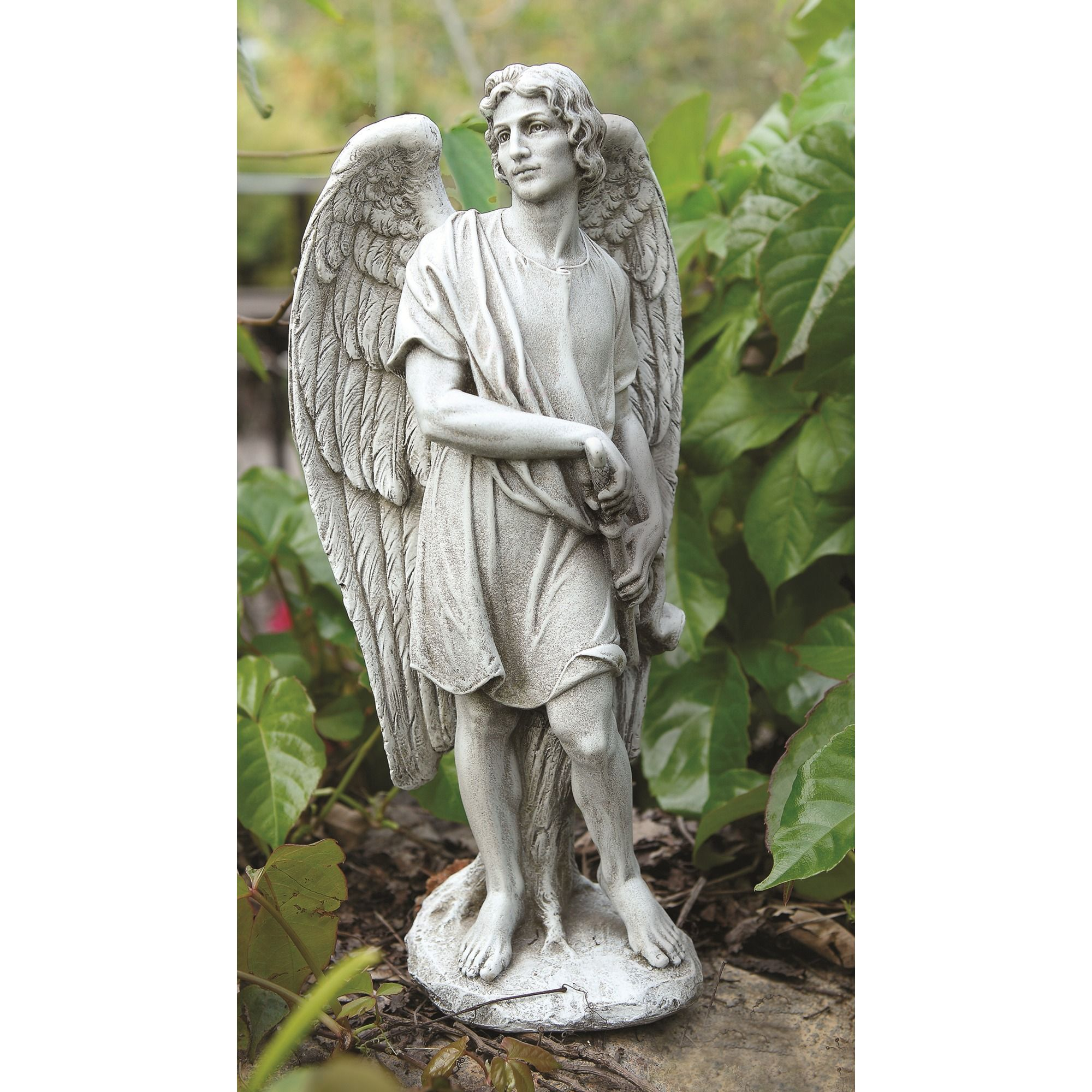 Garden Angel St Michael Garden Statue 14 Sacred Spaces Pinterest