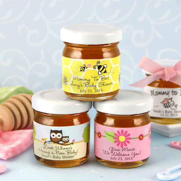 Baby Shower Personalized Honey Favors
