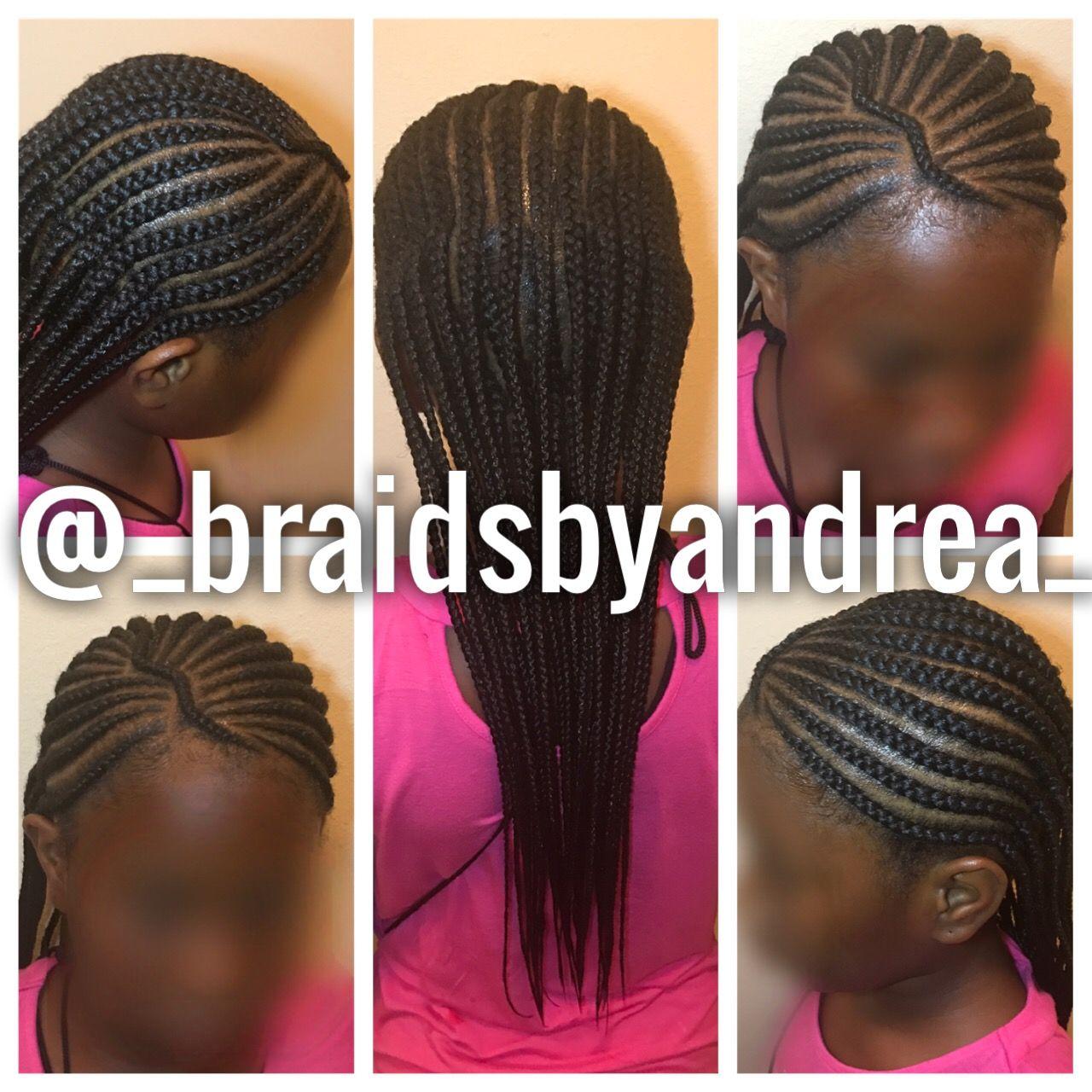 simple kids braid style, 2 layers   little girls   kid braid