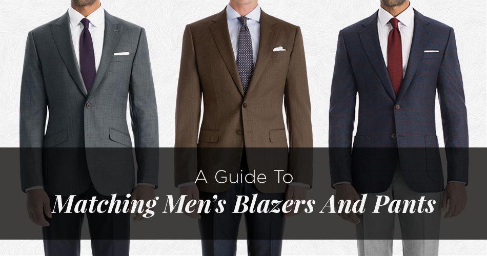 The Best Blazer and Pants Color Combinations Best blazer