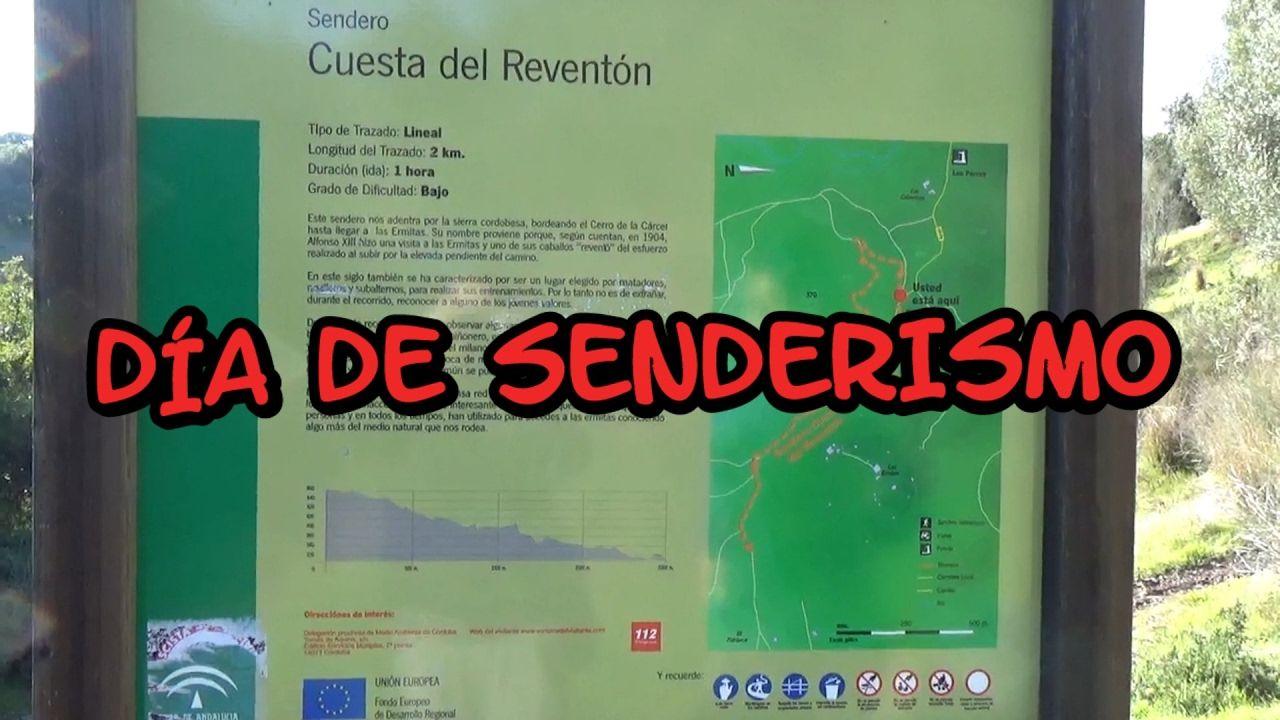 Día de senderismo en la sierra de Córdoba