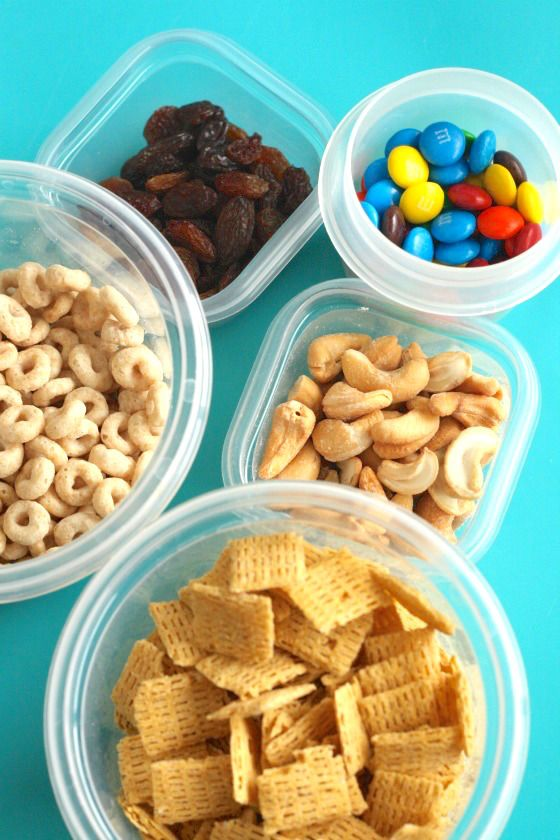 Homemade Trail Mix For Kids Food For Kids Or Fun Foods