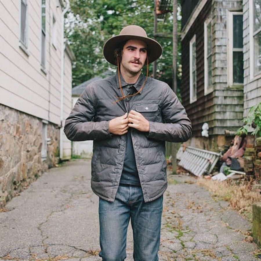 Tiller Packable Wool Felt Wide Brim Hat  a1e44f18f1f