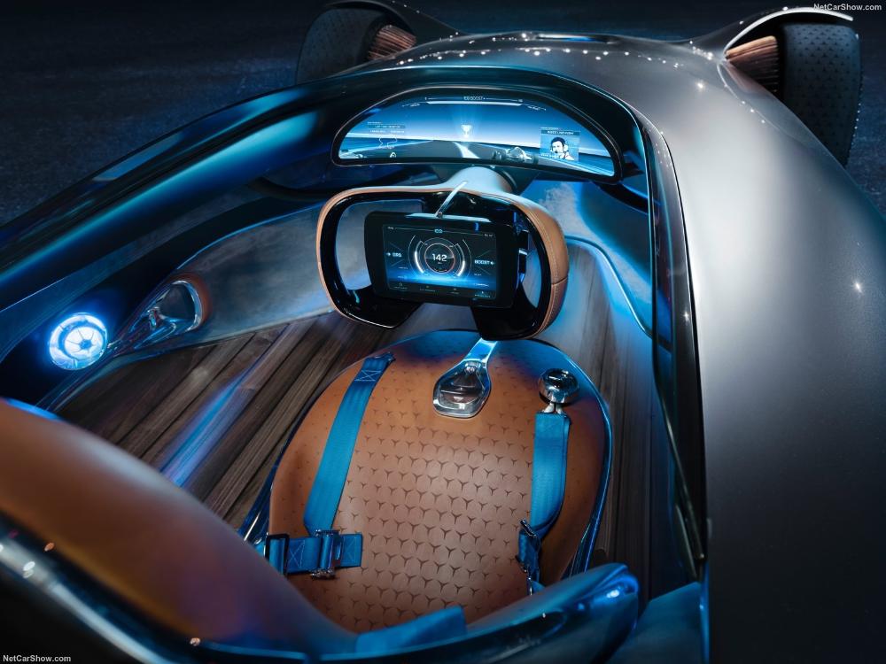 Mercedes Benz Vision Eq Silver Arrow Concept 2018 Picture 24 Of 43 Interior Mercedes Benz Concept Cars Concept Car Design