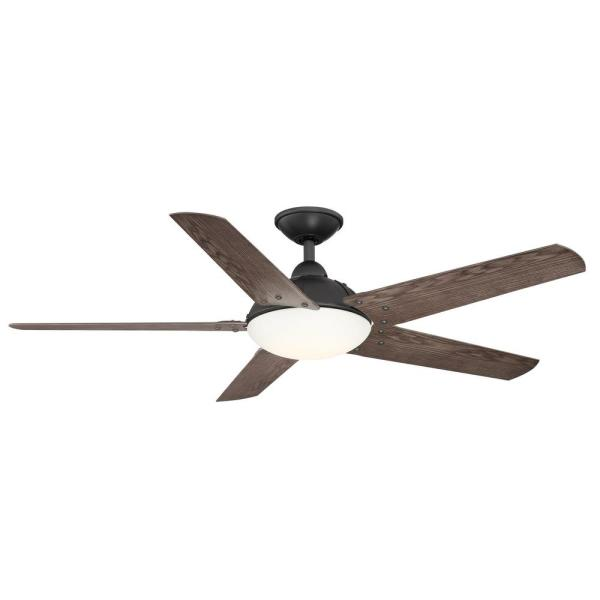 Home Decorators Collection Draper 54 In Led Outdoor Natural Iron Ceiling Fan With Remote Control Yg664 In 2020 Ceiling Fan With Remote Ceiling Fan Modern Ceiling Fan