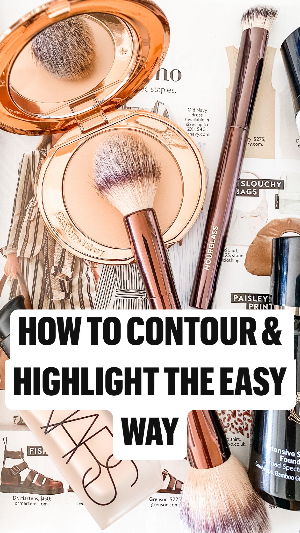 How to Contour & Highlight the easy way
