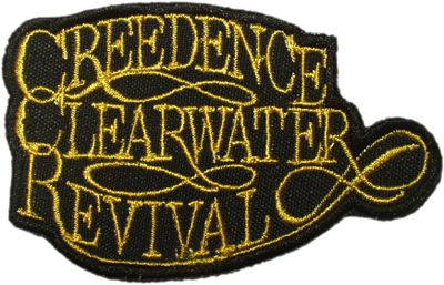Creedence Clearwater Revival Patch Sew or Iron On