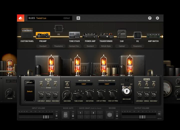 Bias Amp 2 The Ultimate Amp Designer Positive Grid Guitar Amp Amp Impulse Response