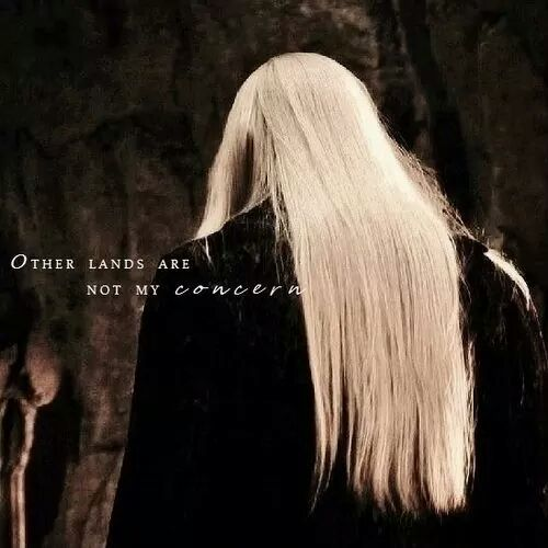"#Thranduil ""Other lands are not my concern."""