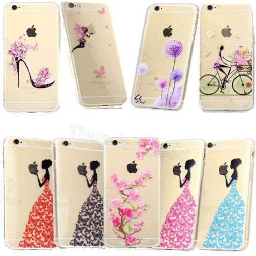 New Phone Shell Rubber Soft TPU Silicone Phone Case For Apple Mobile Iphone6/6s | eBay