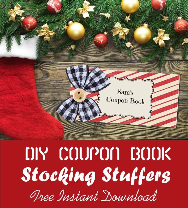 Christmas Coupon Templates - Make a free personalized coupon book - coupon templates free