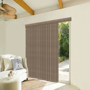 Levolor Vertical Blinds In Embossed Vinyl Fabric Laminate House Blinds Blinds Design Living Room Blinds