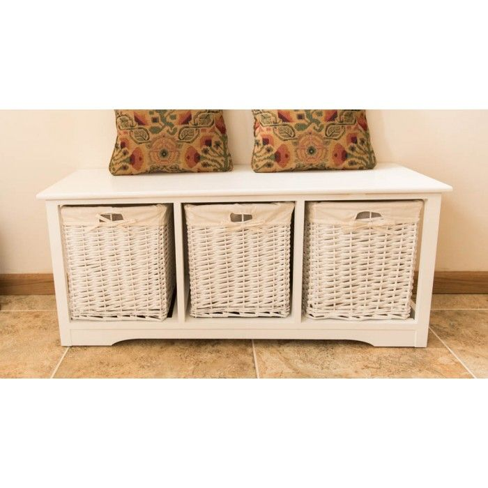 3 Drawer Wicker Storage Unit #Home #Furniture #Decor #Charity