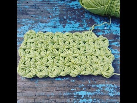 Punto Jazmin A Ganchillo Crochet Jasmine Stitch Youtube Crochet Crochet Patterns Crochet Videos
