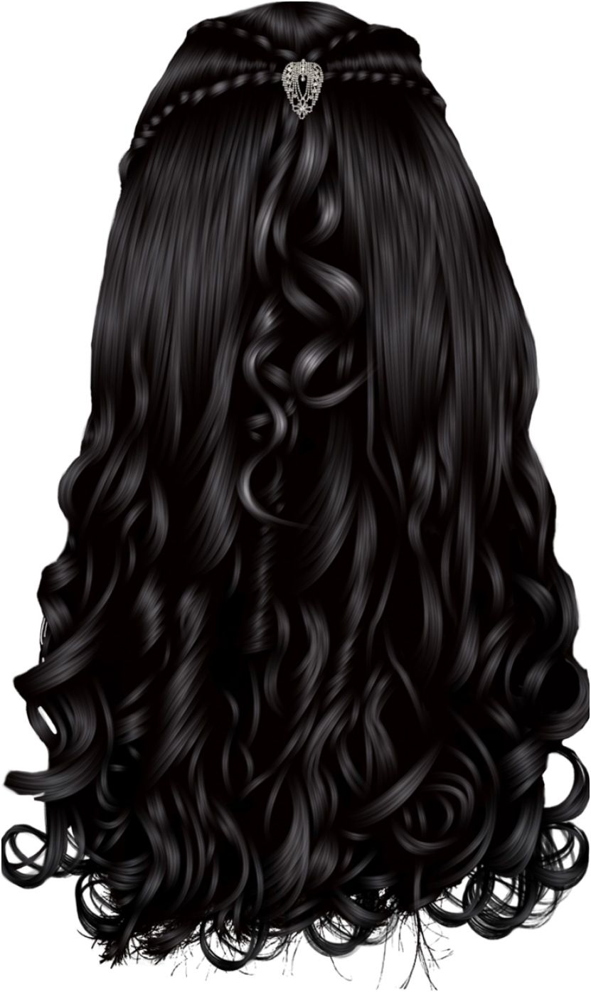 Library Of Back Of Curly Hair Png Free Library Png Files In 2021 Hair Styles Hair Png Fantasy Hair