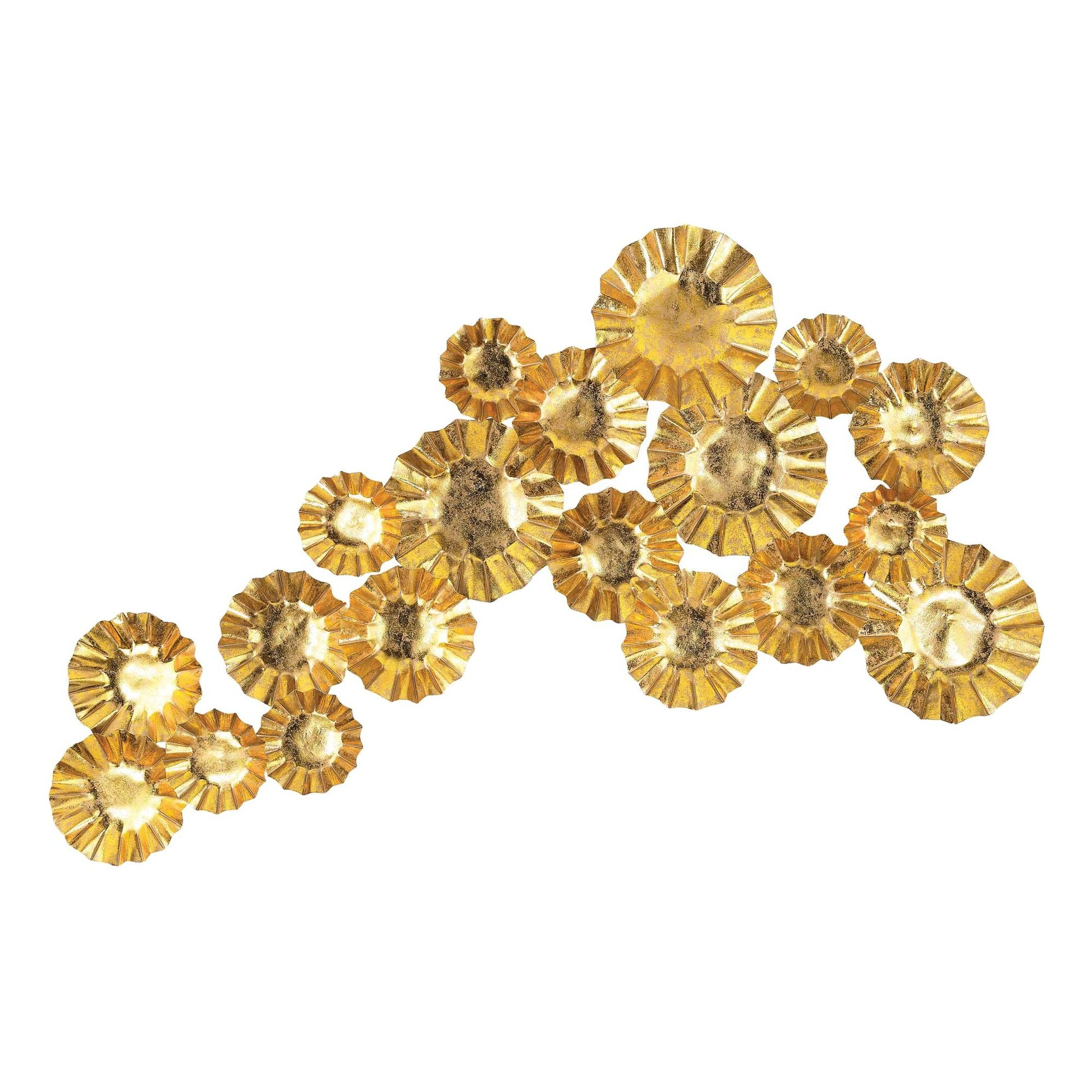Funky Gold Metal Wall Art Image Collection  All About