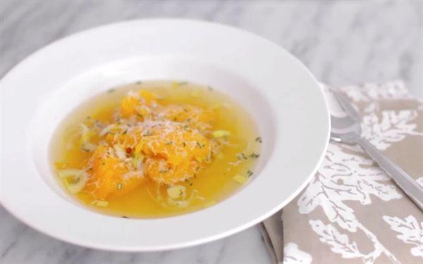 Whole Roasted Pumpkin Soup (and leftover pumpkin ideas!)