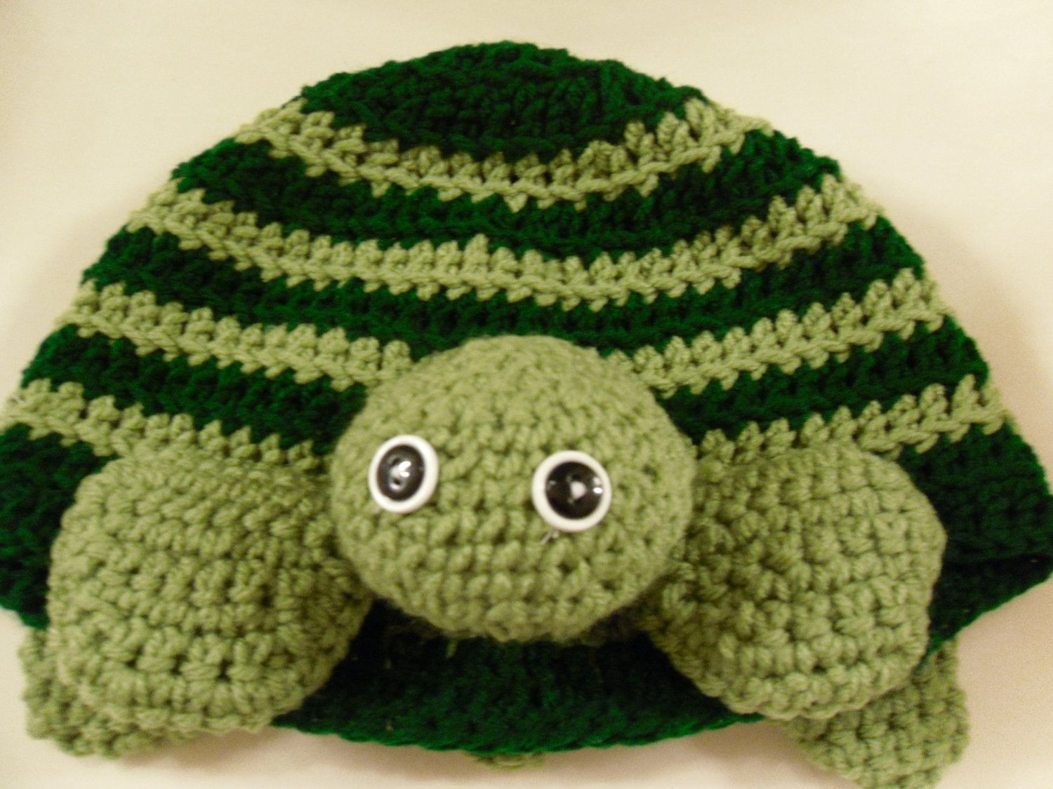 Enchanting Turtle Hat Crochet Pattern Ornament - Easy Scarf Knitting ...
