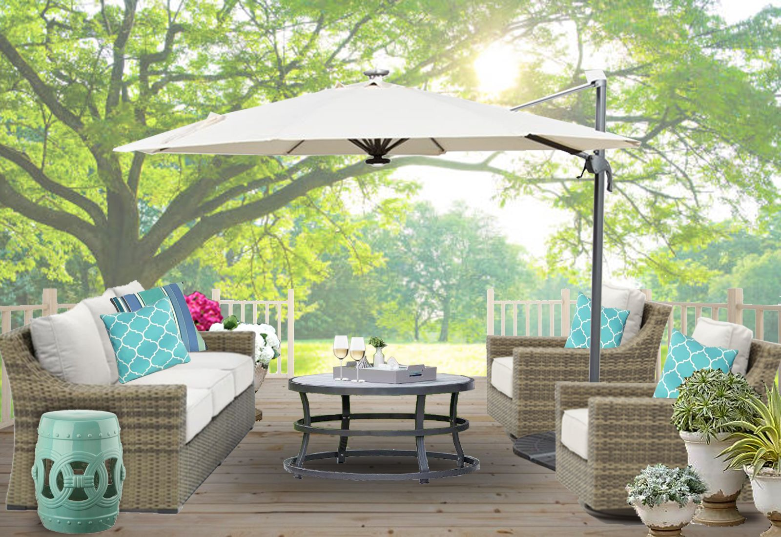 Outdoor Patio Online Interior Design Farmhouse Patio Design