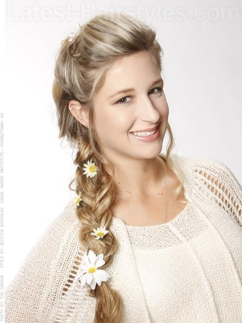 Fantastic Hairstyles For Prom Braids And Braided Hairstyles On Pinterest Hairstyle Inspiration Daily Dogsangcom