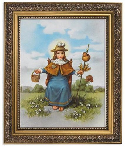 Santo Niño de Atocha Holy Child of Atocha Print In Ornate Frame ...
