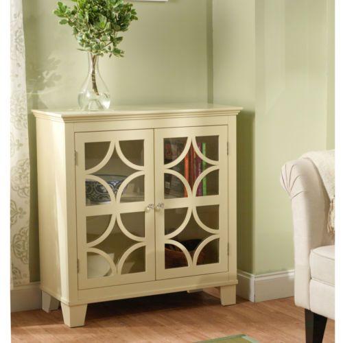 Sydney-Ivory-Cabinet-Buffet-Storage-Furniture-Sideboard-Vintage-Server-Dining-w