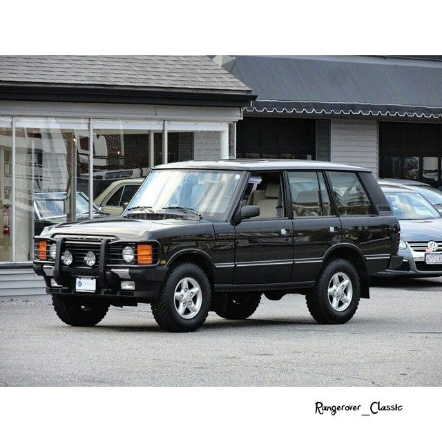 Supercharged V8 Ranger: Range Rover Classic Vogue, 1995