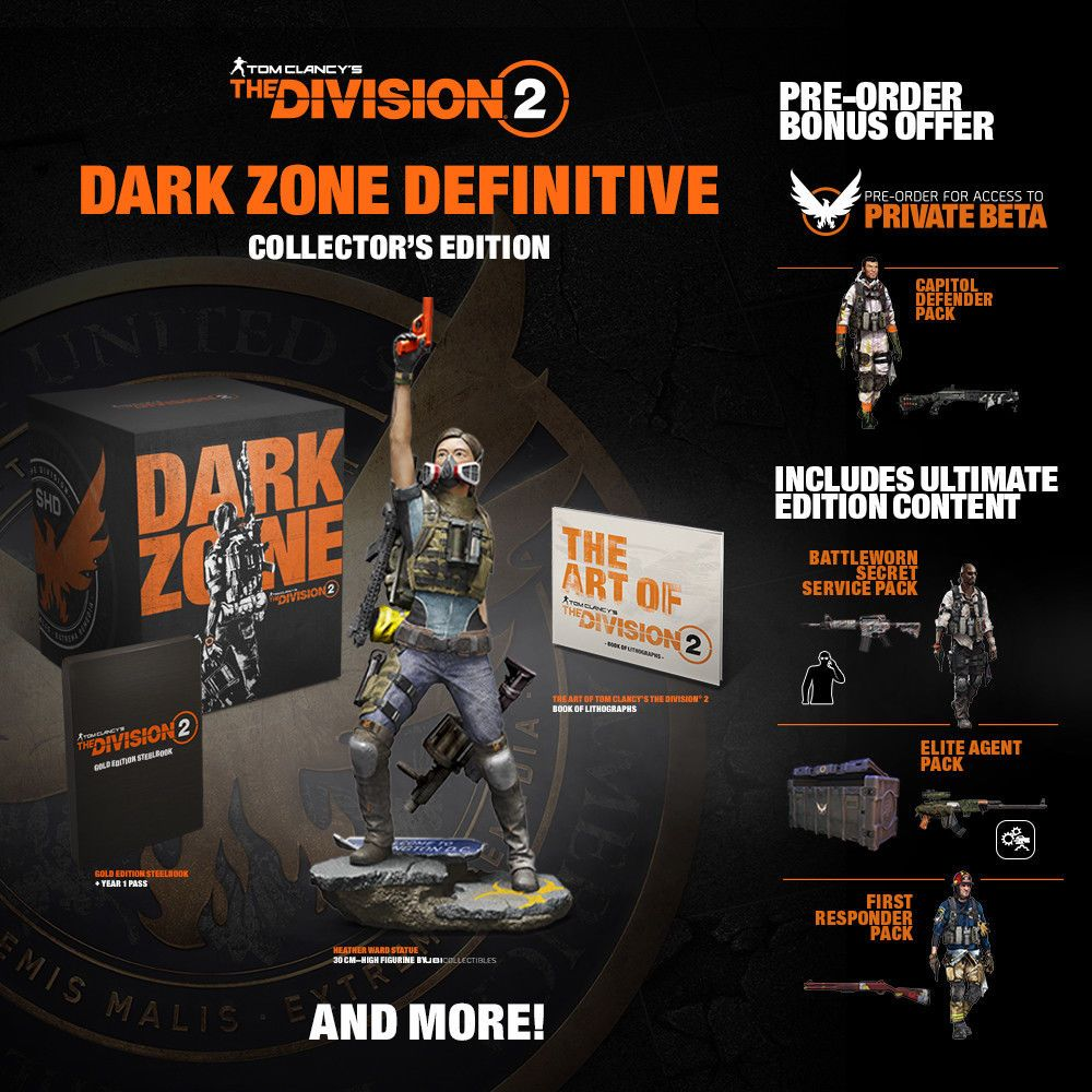 division 2 dark zone edition game
