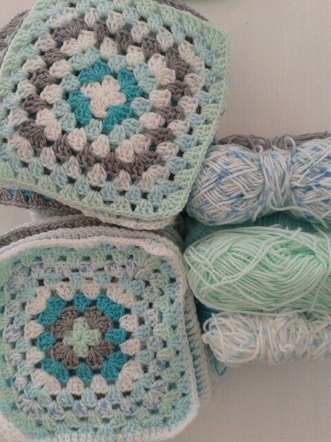 Anne\'s beautiful granny squares | Crochet | Pinterest