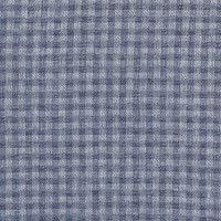 Oruga Muy Hambrienta azul y blanco de tela de algodón