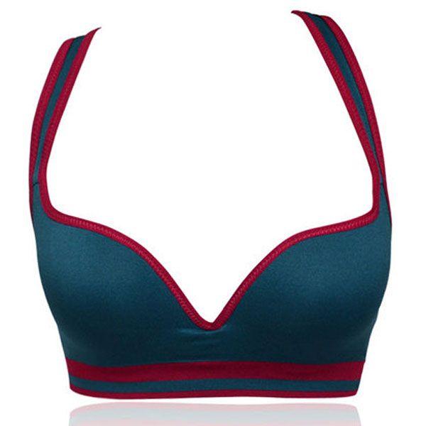 Yoga sujetador deportivo-Azul EUR15.18 | Lencería | Pinterest ...