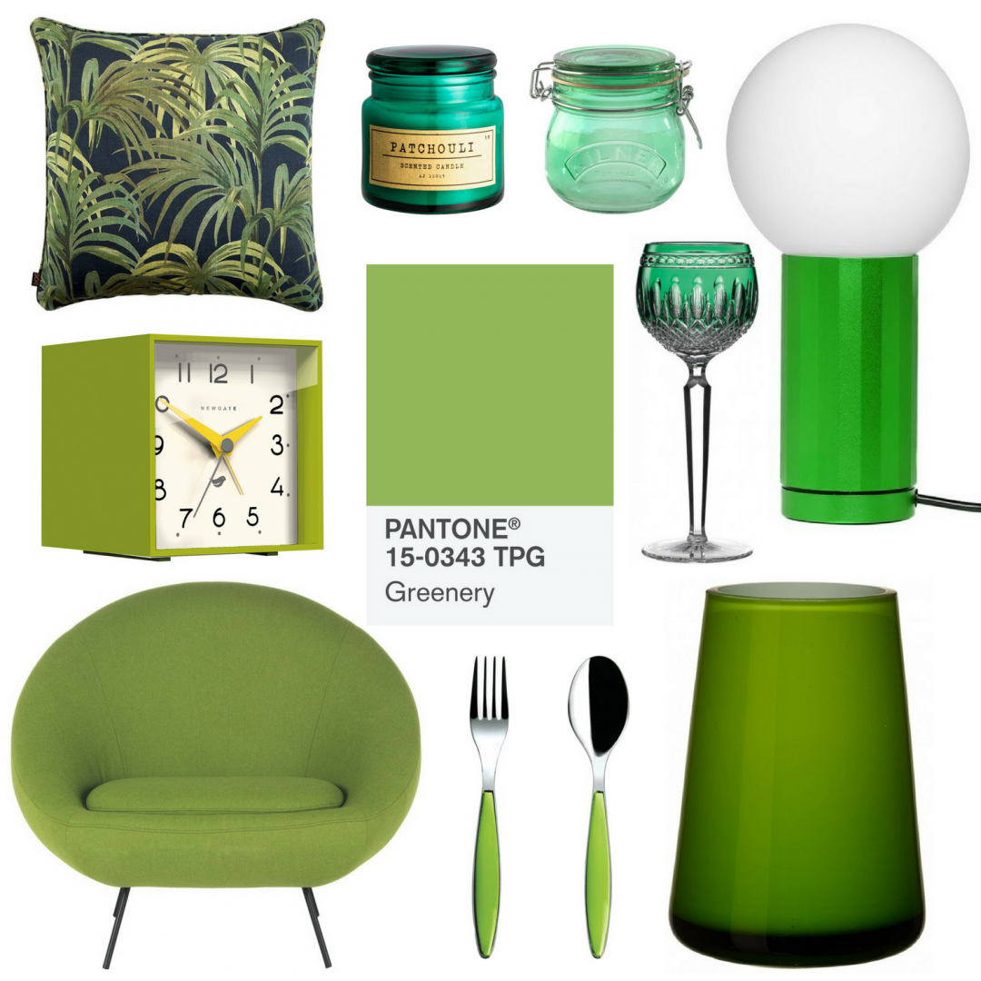 Greenery - Pantone's Color of the Year 2017