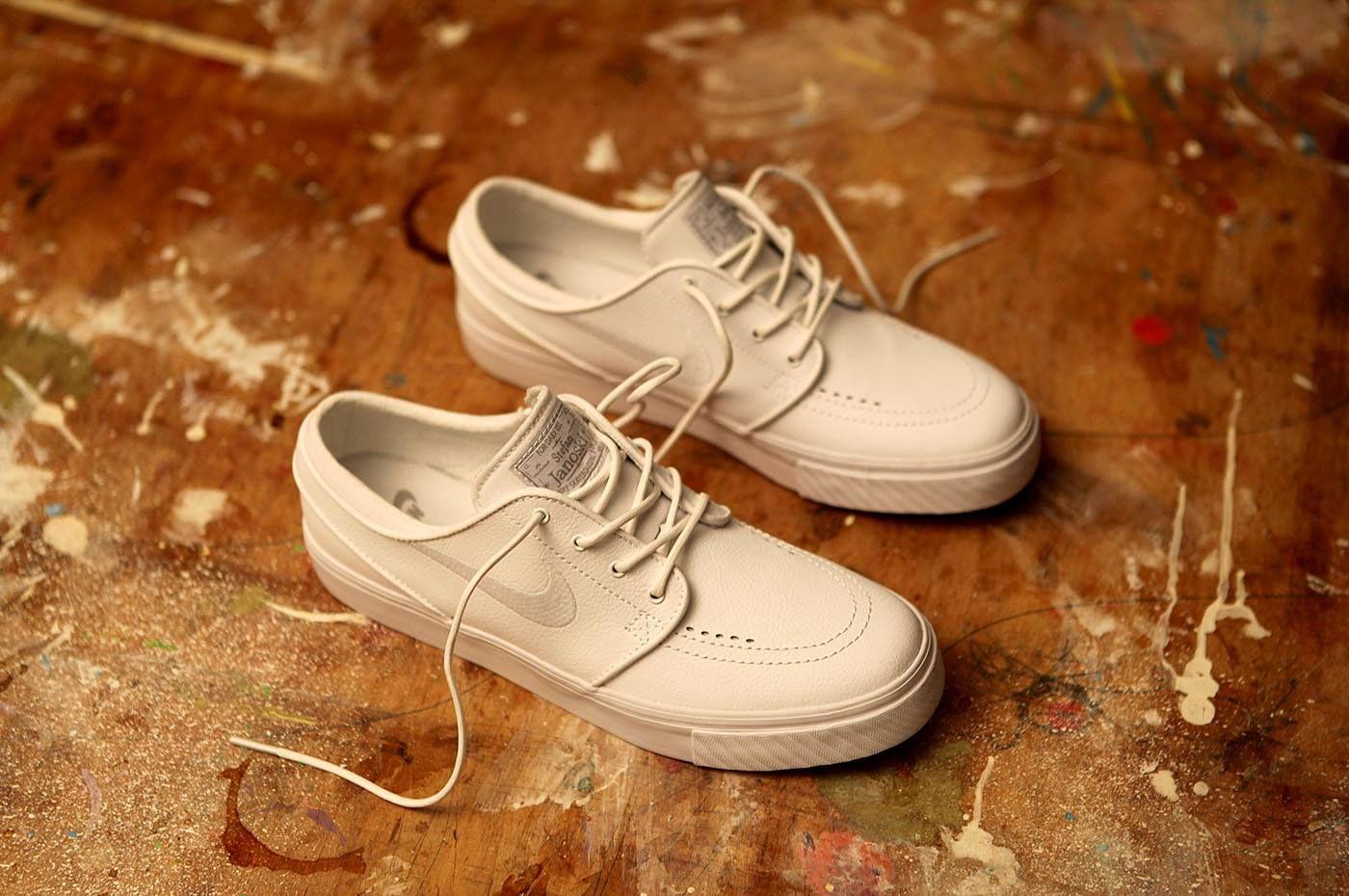 size 40 fde89 de32d Nike SB Janoski Leather White http   www.popname.cz cze