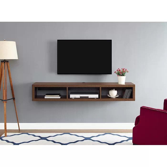 Haraldur Floating TV Stand for TVs up to 65""