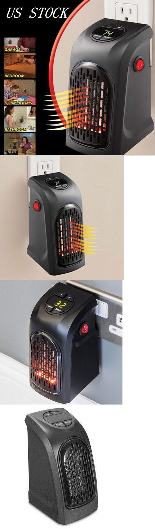 Air Conditioners And Heaters 185107 400w 220 240v Mini Furnace Portable Plug In Electric Wall Outlet Space Heater Wall Outlets Home Furnace Portable Fan