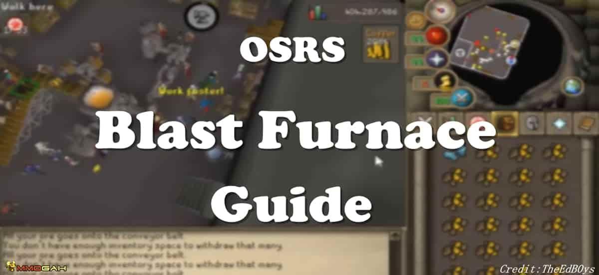 Osrs Money Making Blast Furnace Guide Blast Furnace Furnace