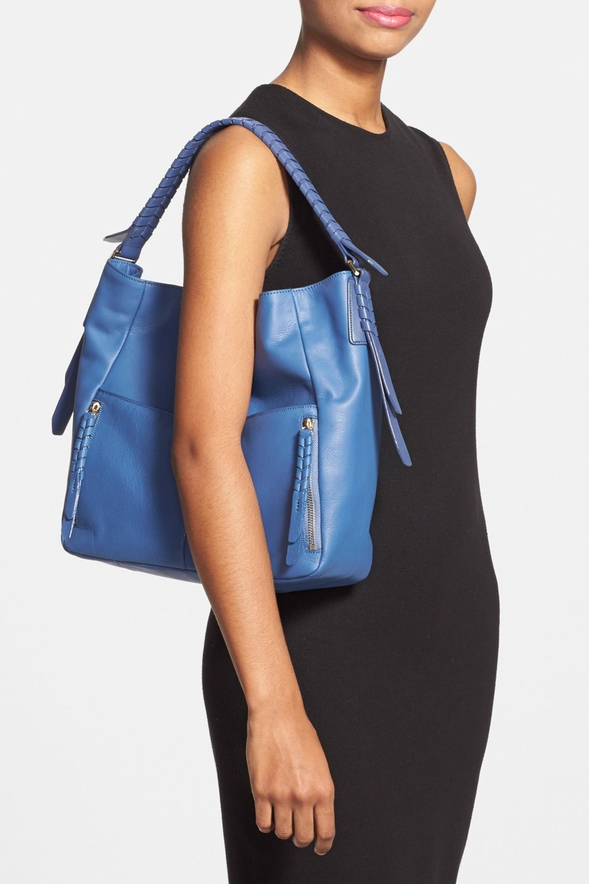072057115560 Felicity Leather Hobo by Cole Haan on  nordstrom rack