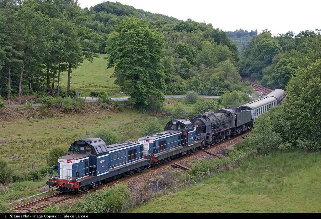 RailPictures.Net Photo: BB 66114 SNCF BB 66000 at Ussel, France by Fabrice Lanoue
