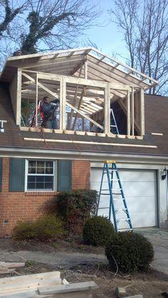 Dormer Additions For Room Addition Above Garage Attic Remodel Attic Renovation Attic Rooms