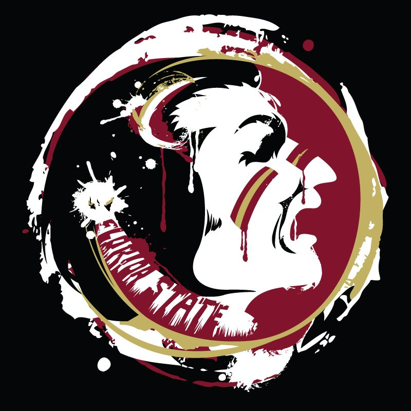 Fsu Football Wallpaper: FSU's Chief Osceola Splatter Art By Moysche At DeviantART