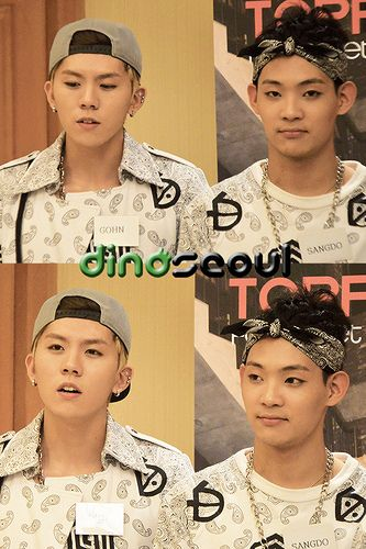 140111 TOPPDOGG in Singapore Group Interview
