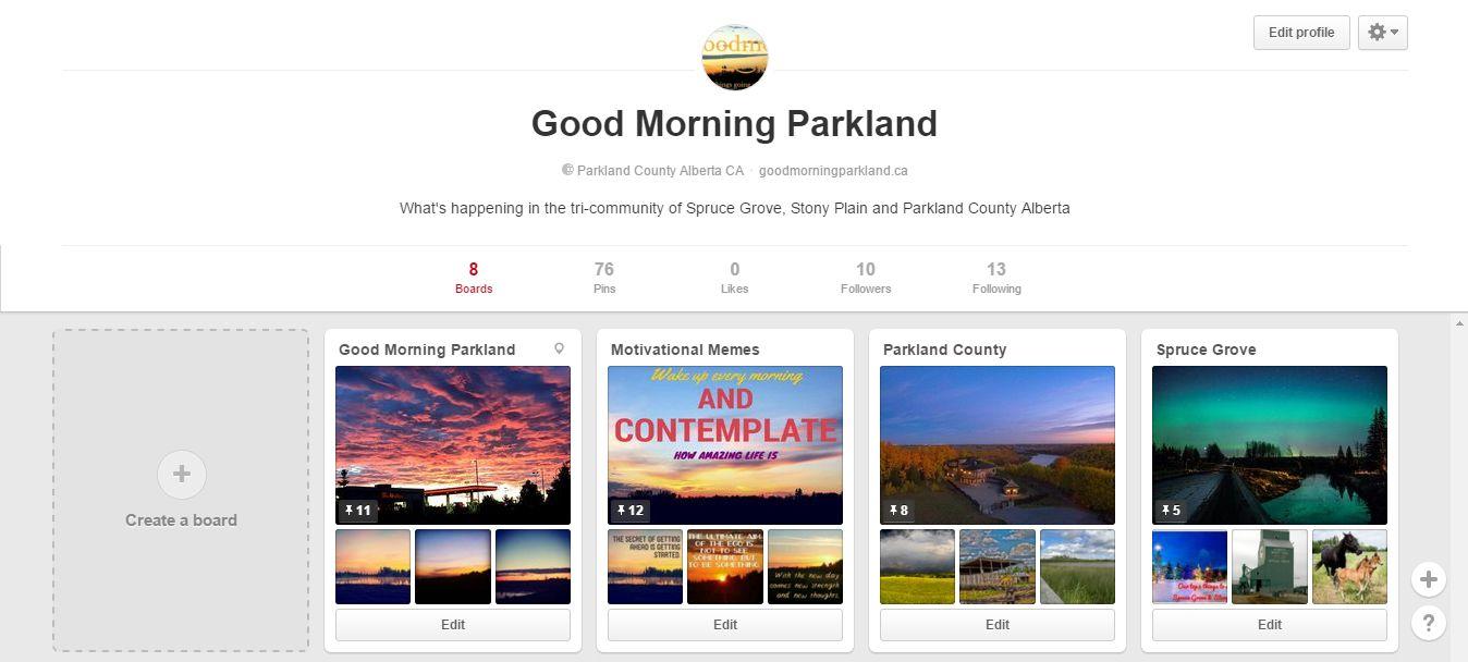 good morning parkland pinterest